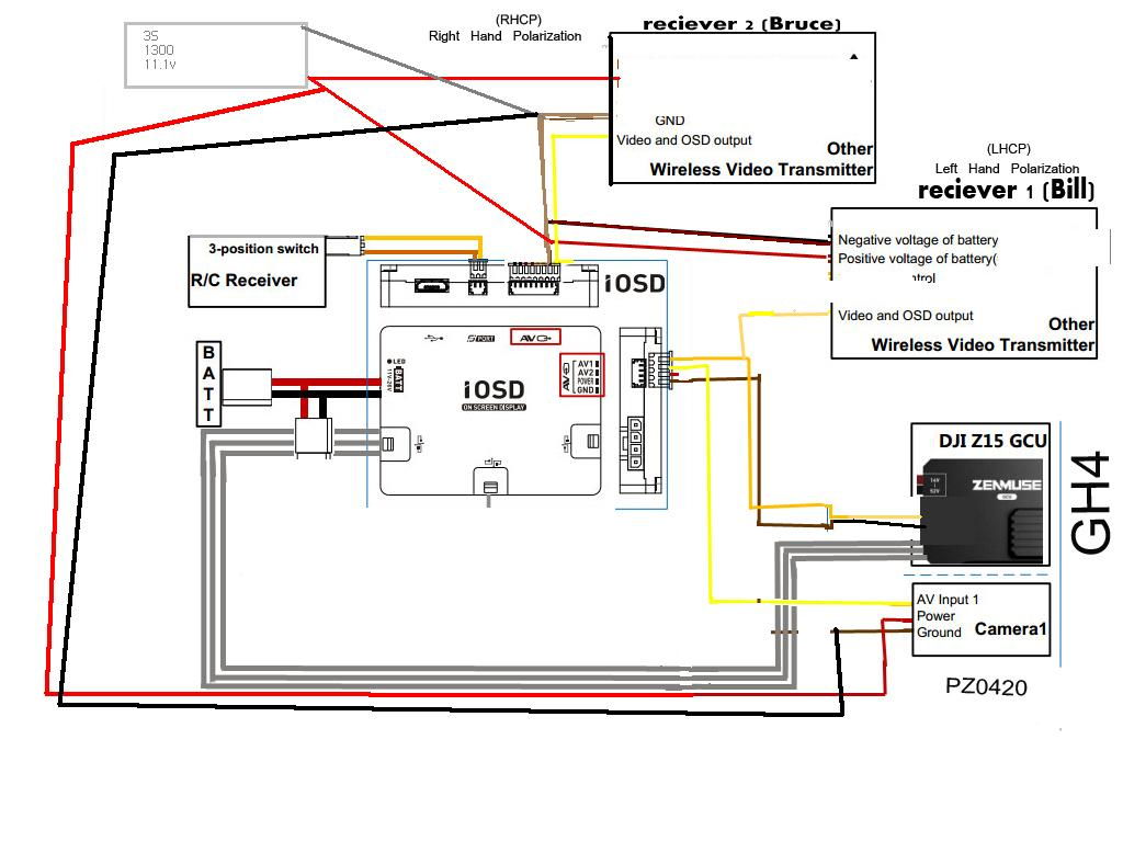 dji phantom wiring diagram � s900 video problems